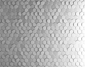 Dekowall Hexagon Tiles 3D model