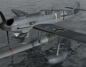 Messerschmitt Bf-109W-2 3D model