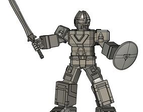 3D print model flashking flashman robot supersentai suit 1