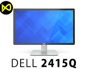 3D model Dell 24 Ultra HD 4K Monitor P2415Q