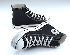 Converse Shoes 3D model clothing