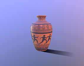 Greek Vase 3D model low-poly