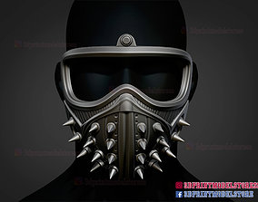Watch Dogs Mask - Marcus Holloway 3D printable model 1