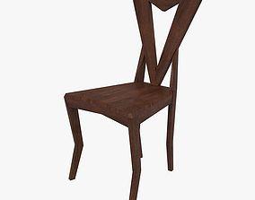 Cubustic Chair by Pavel Janak 3D