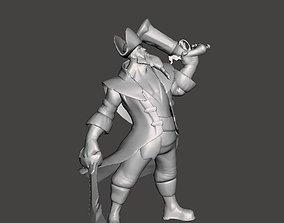 Captain Gangplank 3D Model
