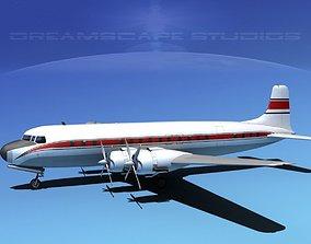 3D Douglas DC-7C Corporate 1