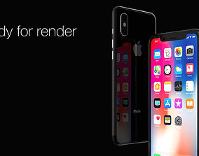 Apple Iphone X iphone 3D