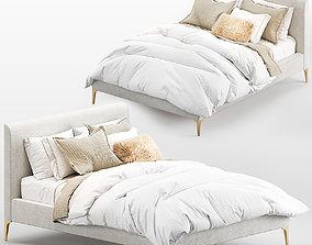 West Elm Andes bed 3D model