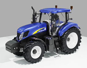 New Holland CNH Tractor T7000 new 3D