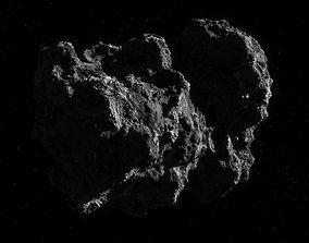 Photorealistic comet 3d-model