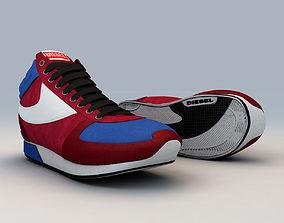 3D model Diesel Sneakers - Shoes