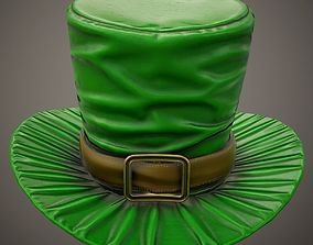 Leprechaun hat PBR Game-Ready 3D model