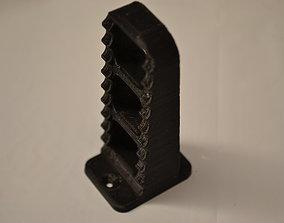 Dirtbike Footpeg Coat Hanger 3D printable model