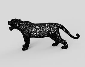 3D printable model savannah Tiger