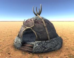 3D asset Boneskin Hut 5