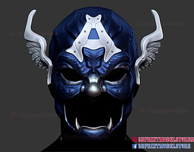 Samurai Heroes Captain America Helmet 3D printable model