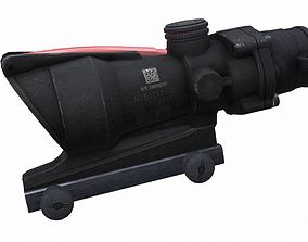 Trijicon ACOG 3D model