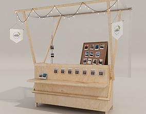 Kiosks for fairs 3D