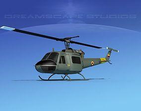 Bell UH-1B Iroquois Columbia 3D model