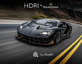 1 HDRI - Automotive 001 textures 3D