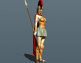 Girl from Sparta 3D printable model