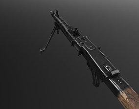 3D asset MG-42