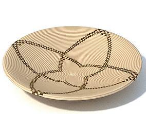 3D model African Serving Plate