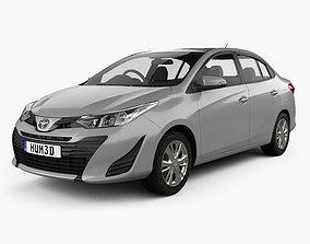 3D Toyota Yaris TH-spec sedan 2018