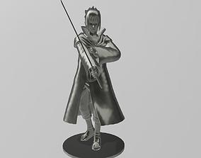 Sasuke Uchiha The Taka from Naruto 3D print model