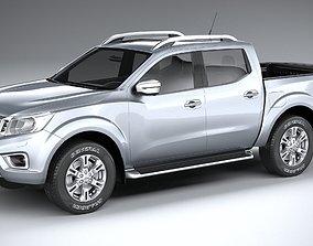 Nissan Navara DoubleCab regular 2020 3D