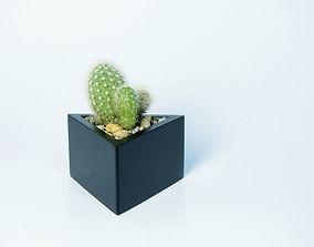 Prisma planter 3D printable model