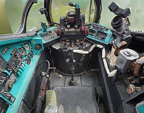 Mi-24V Gunner - Co-Pilot Cockpit RAW 3D Scan