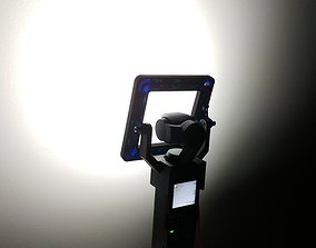 DJI Osmo Pocket LED ring 3D print model