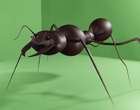 3d Ant animal insect