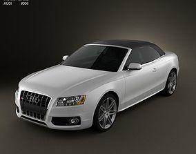 3D Audi S5 Convertible 2010
