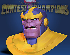 Thanos - Marvel Contest of Champions 3D print model