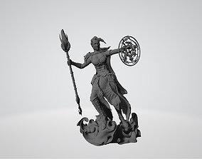 Jaina Proudmoore World of Warcraft 3D printable model
