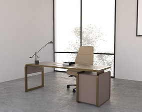 3D Office Desk 04
