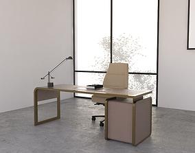 3D Office Desk 04