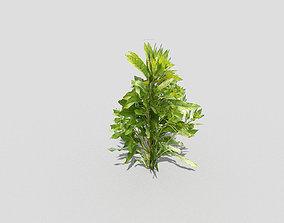 grass Plant 3D model low-poly
