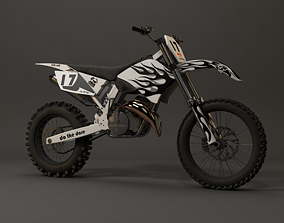 3D asset realtime Dirt Bike