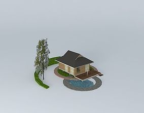 3D Small vacation house 02