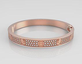 bracelet 3D print model Woman Bracelet