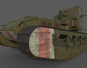 Mk A Whippet 3D model