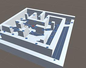 VR / AR ready Pathfinding for Unity3D Pointer Arrow