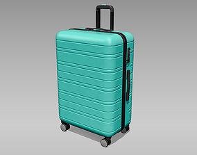 Hardside Spinner Travel Luggage Suitcase 3D asset