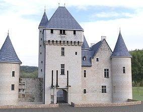 Chateau du Rivau 3D