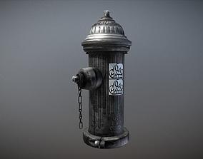 Fire Hydrant 3D Model VR / AR ready PBR
