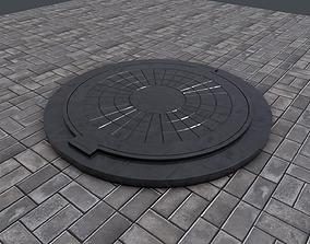 3D Sewer Hatch PBR