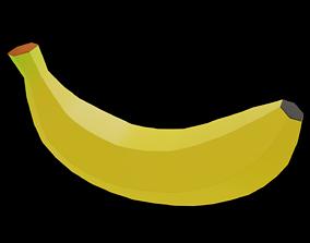3D asset game-ready Banana